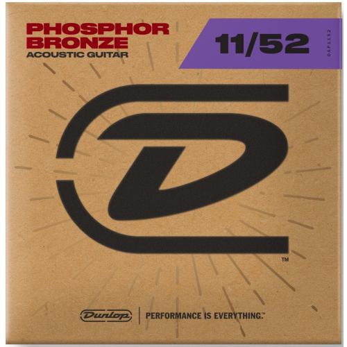 Dunlop 11-52 磷青銅木吉他弦 / Phosphor Bronze DAP1152