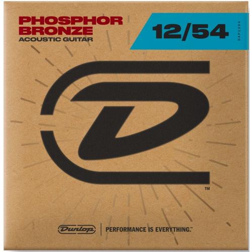 Dunlop 12-54 磷青銅木吉他弦 / Phosphor Bronze DAP1254