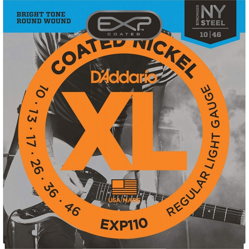 D'Addario EXP110 10-46 包膜電吉他弦