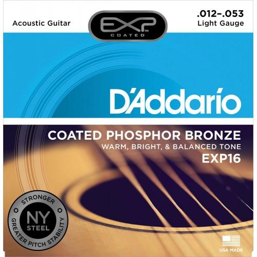 D'Addario EXP16 12-53 木吉他弦 Phospher Bronze 磷青銅