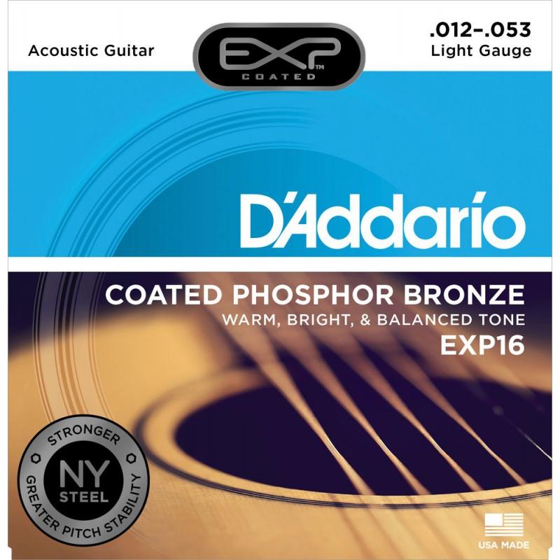 D'Addario EXP16 (12-53) Phospher Bronze