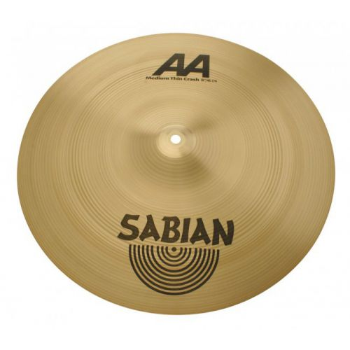 "Sabian 18"" AA Medium Thin Crash"