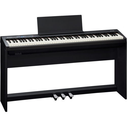 Roland FP-30 88鍵數位電鋼琴套裝 附腳架踏板琴椅 黑色