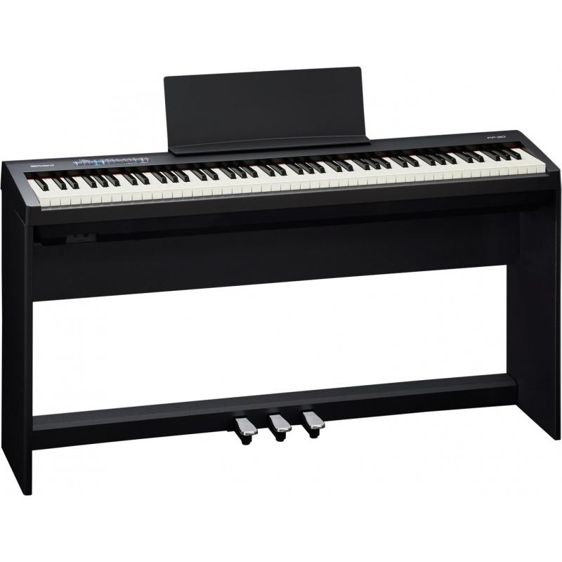 Roland FP-30 88鍵數位電鋼琴套裝 附腳架琴椅 白色