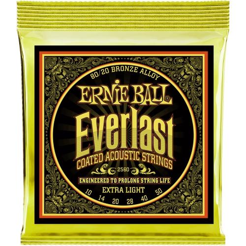 Ernie Ball Everlast 10-50 木吉他弦 80/20 Bronze (2560)