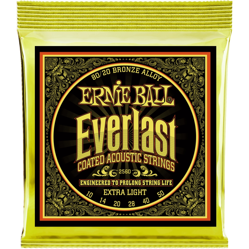 Ernie Ball Everlast 10-50 木吉他弦 80/20 Bronze (2558)