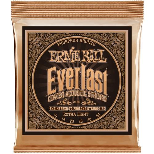 Ernie Ball Everlast 10-50 木吉他弦 磷青銅 Phosphor Bronze (2550)