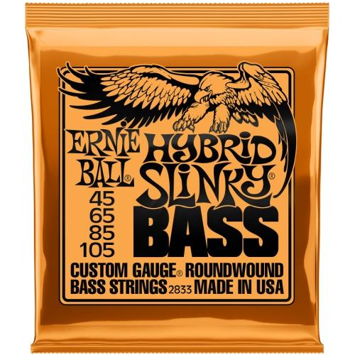 Ernie Ball 45-105 Hybrid Slinky 貝斯弦 2833