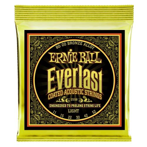 Ernie Ball Everlast 11-52 木吉他弦 80/20 Bronze (2558)