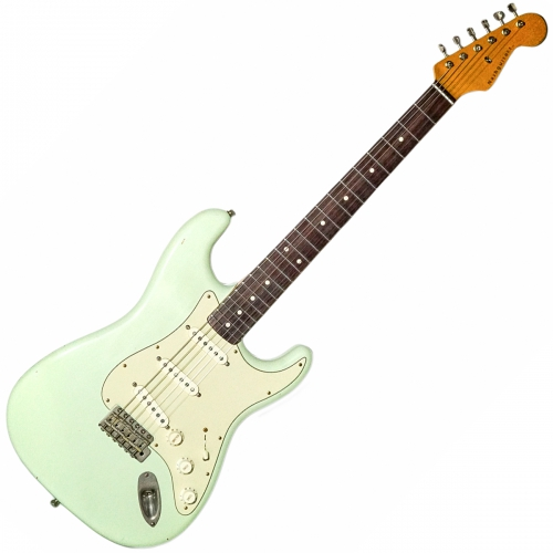 Nashguitars 客製仿舊吉他 S63 Sonic Blue / 輕度仿舊 Light / 玫瑰木指板