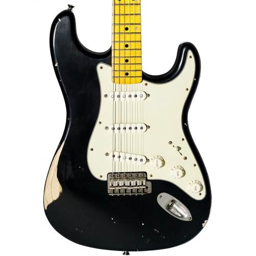 Nashguitars 客製仿舊吉他 S57 黑色 / 中度仿古 Medium / 楓木指板