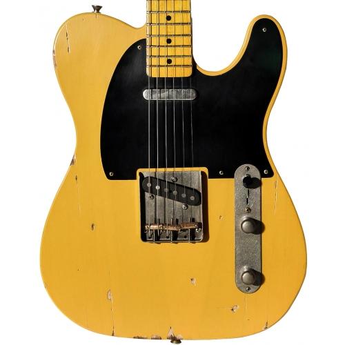 Nashguitars 客製仿舊吉他 T52 BSB / 中度仿古 Medium / 楓木指板
